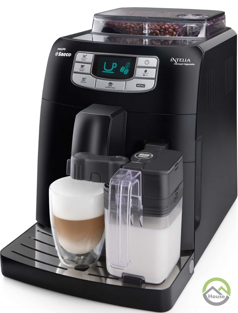 Кофеварка эспрессо Philips-Saeco Intelia One Touch Cappuccino HD8753/11